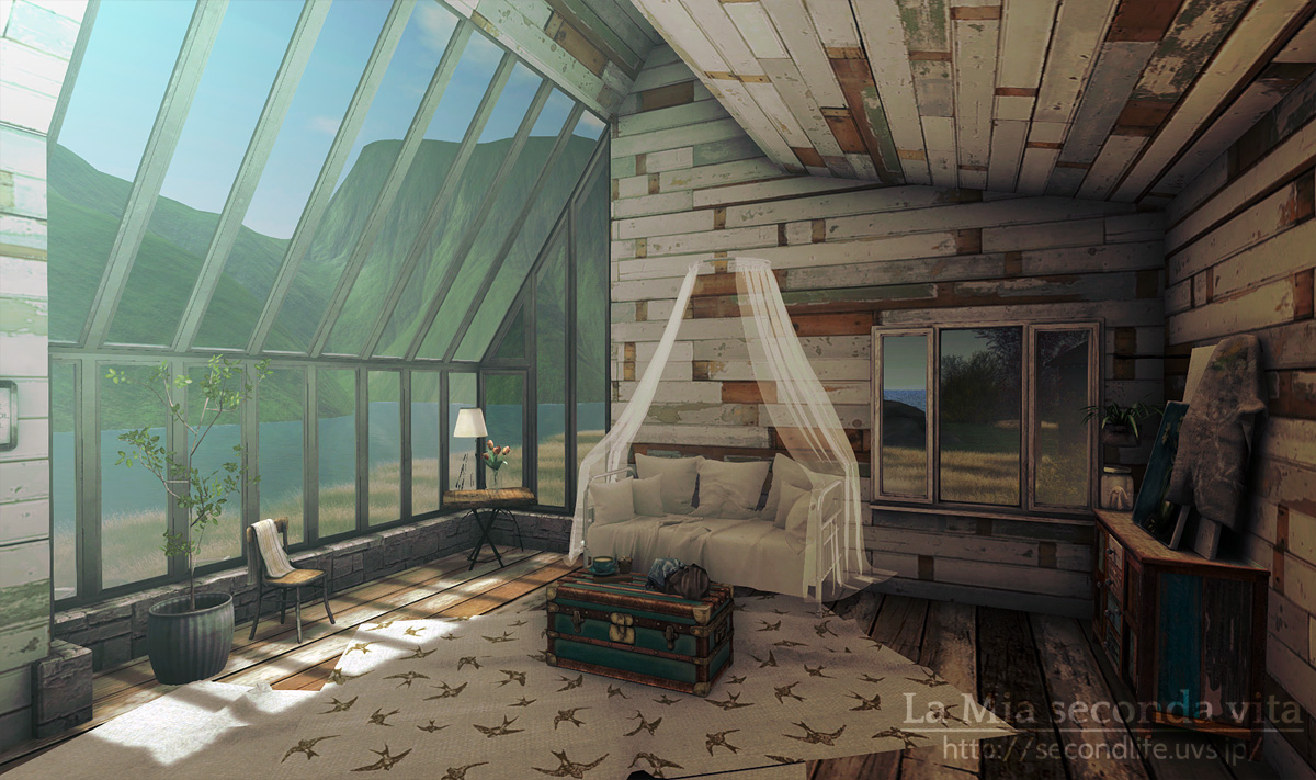secondlife-Kaleidoscope01 セカンドライフ 日当たりのいい部屋