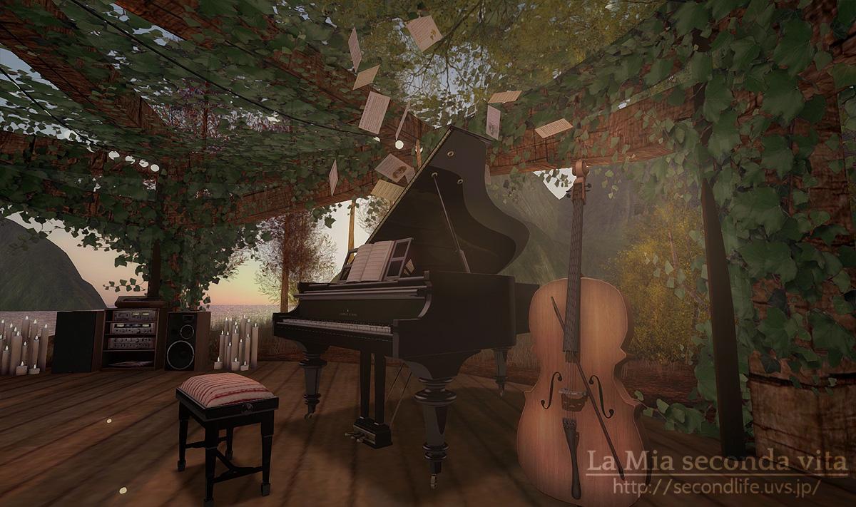 secondlife-Kaleidoscope10 セカンドライフ ピアノとチェロ