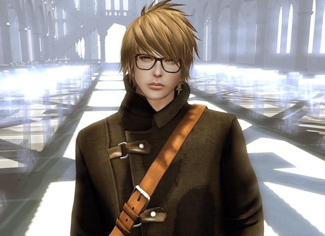 セカンドライフ 伊達眼鏡