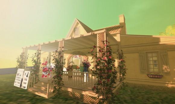 お花のカフェ