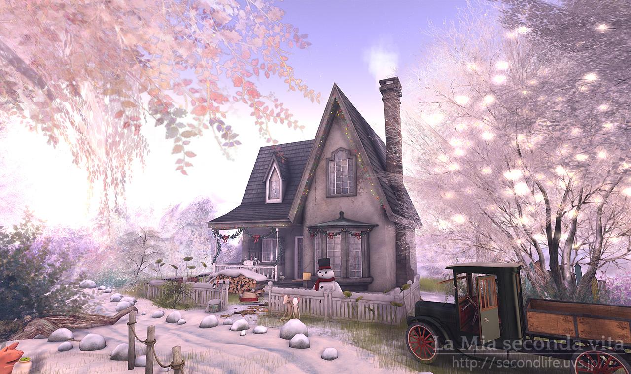 セカンドライフ クリスマスの家