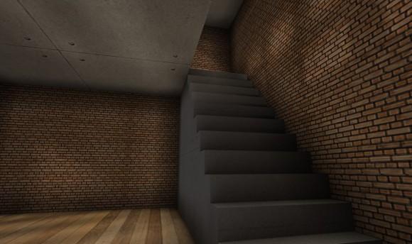 セカンドライフ 画質設定:高 階段