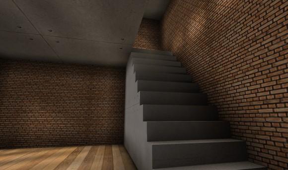 セカンドライフ 画質設定:低 階段