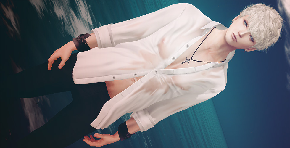 セカンドライフ 濡れシャツはロマン