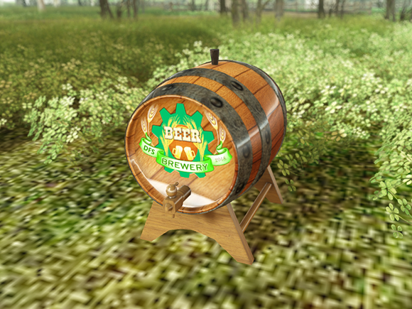 Secondlife DFS Beer Keg