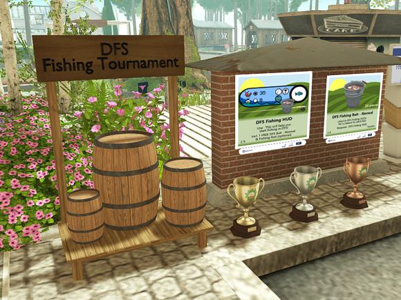 セカンドライフ DFS Fishing Tournament バス釣りトーナメント