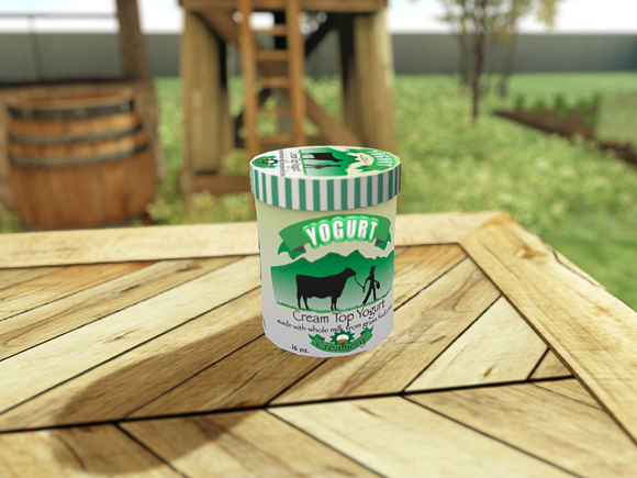 Secondlife DFS Yogurt plain